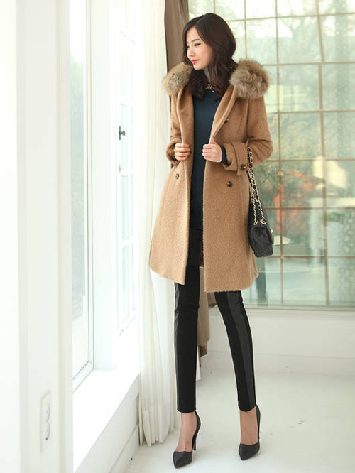 Dress up cold weather fashion
